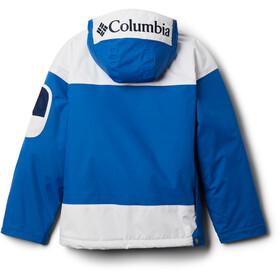 Columbia Challenger Pullover Jas Kinderen, bright indigo/white/coll navy
